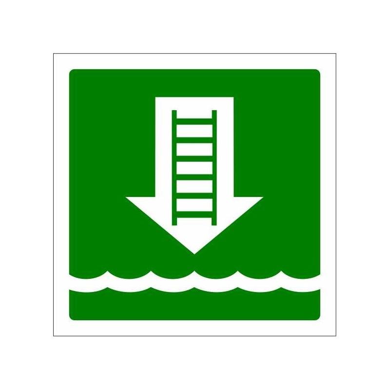 415S-OMI - Escala d'embarco Fotoluminiscente - Referència 415S