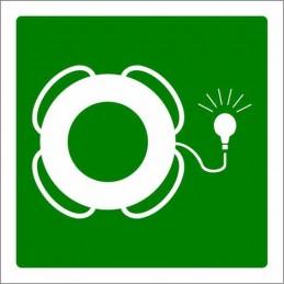 SYSSA,Señal Aro salvavidas con dispositivo luminoso