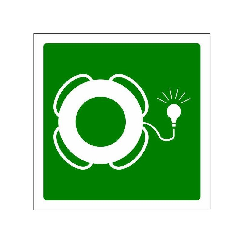 419S-OMI - Aro salvavides amb dispositiu lluminós - Referència 419S