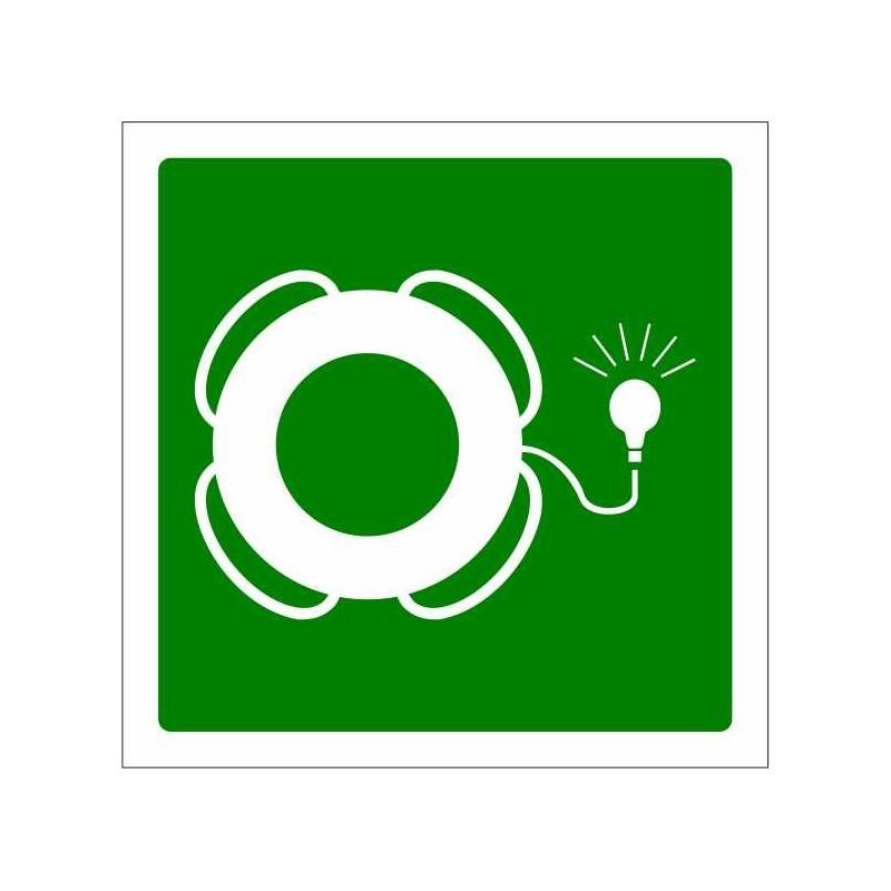 419S-Cèrcol salvavides amb dispositiu lluminós