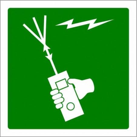 Aparato radioeléctrico portátil para embarción de supervivencia