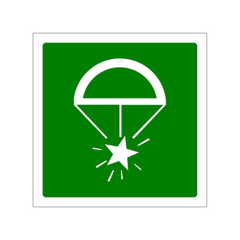 428S-Bengales de socors amb paracaigudes