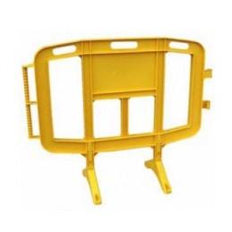 SYSSA - Tienda Online - Valla peatonal amarilla 1,20 m.