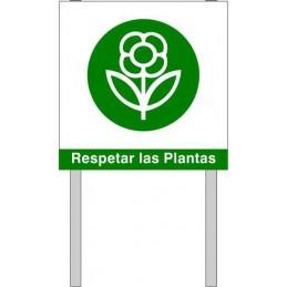 Respeten las plantas