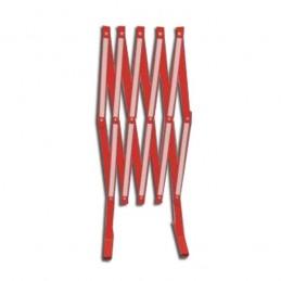 SYSSA - Tienda Online - Valla extensible metálica en color rojo