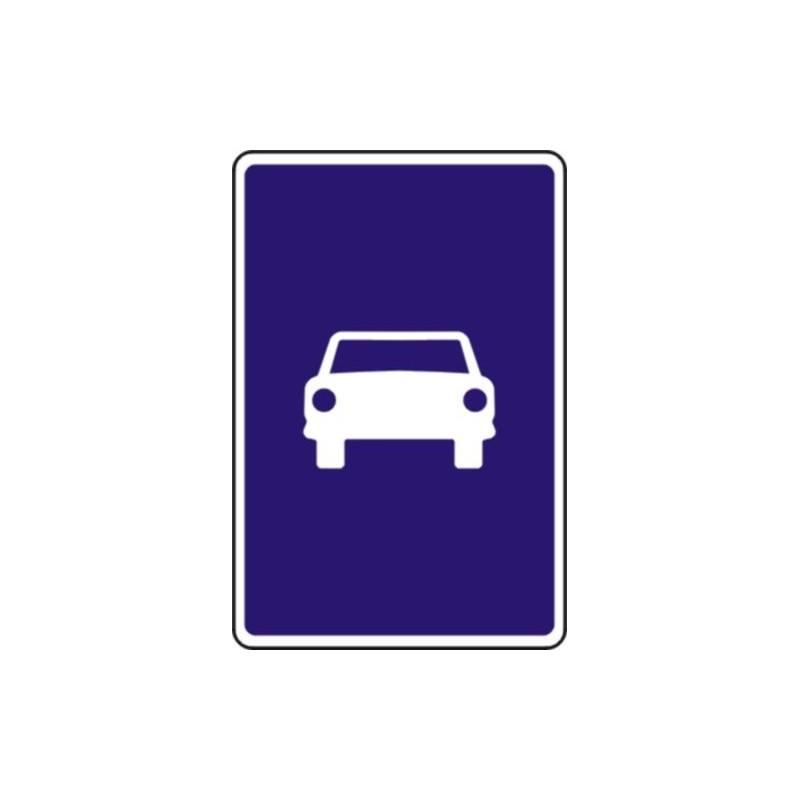 S3-Señal Vial Vía para automóviles - Referencia S3