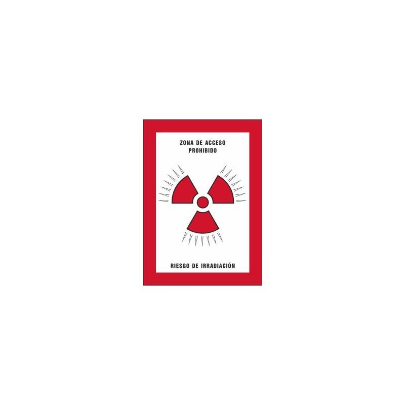 8006S-Zona de acceso prohibido Riesgo de irradiación