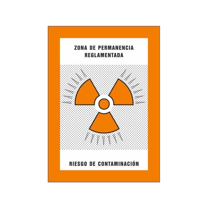 8012S-Zona de permanència reglamentada. Risc de contaminació