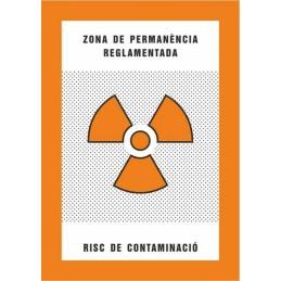 SYSSA,Señal Zona de permanencia reglamentada Riesgo de contaminación