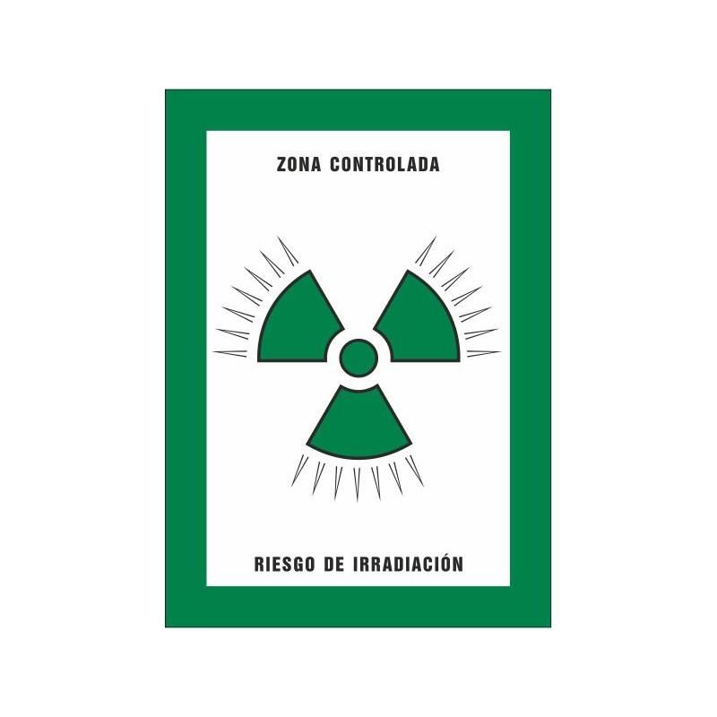 8021S-Zona controlada Riesgo de irradiación