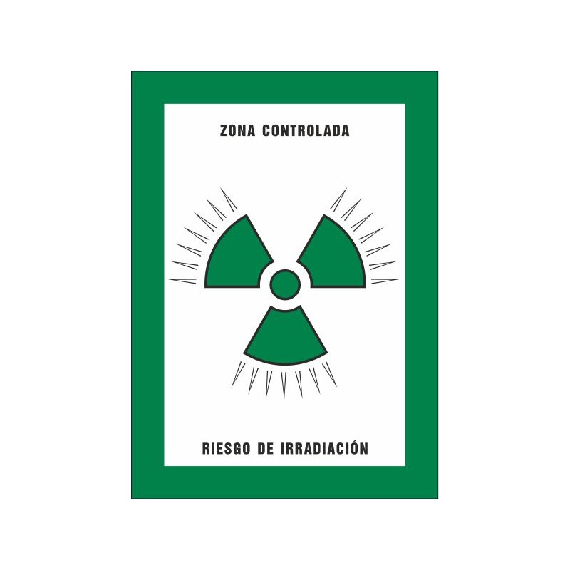 8021S-Zona controlada. Risc d'irradiació