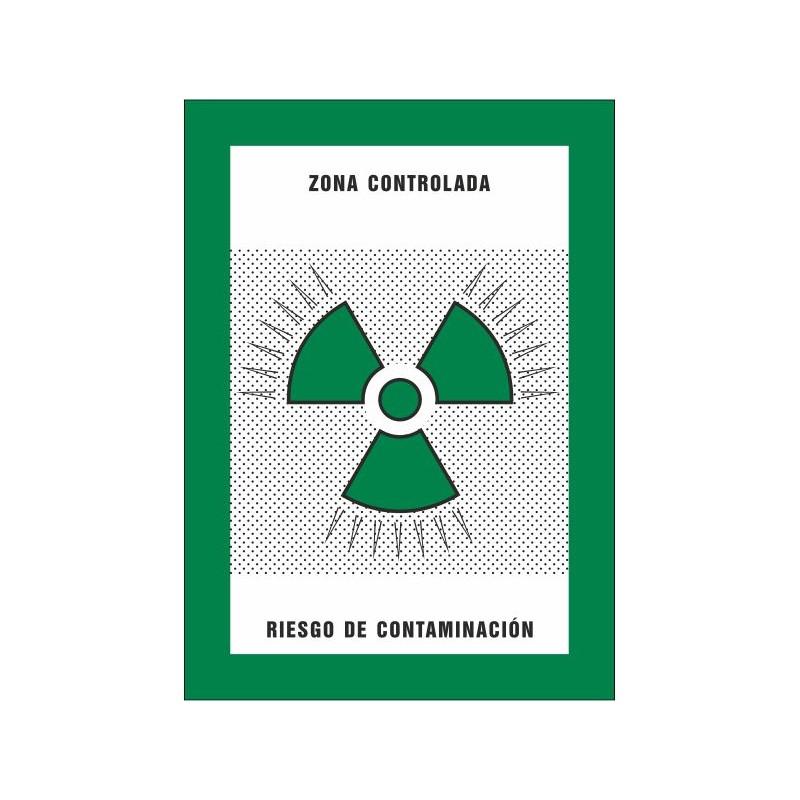 8022S-Zona controlada Riesgo de contaminación