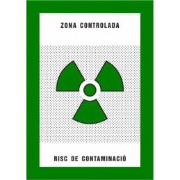 SYSSA,Señal Zona controlada Riesgo de contaminación