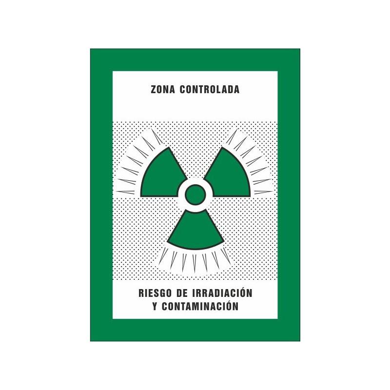 8023S-Zona controlada Riesgo de irradiación y contaminación