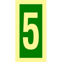 Tienda Online - OMI - Numero 5 - Fotoluminiscente