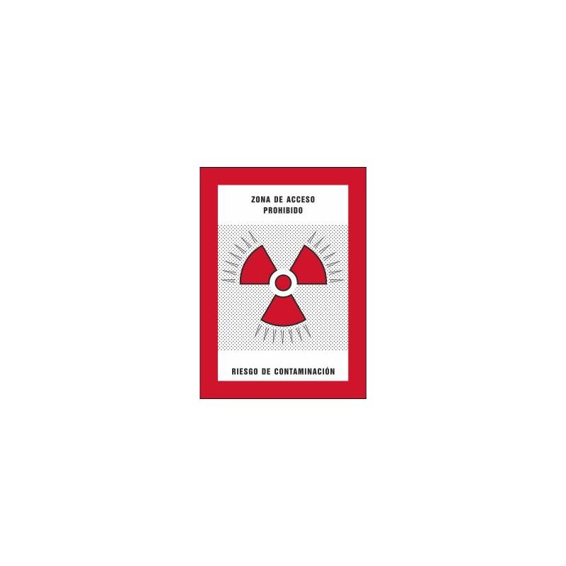 8007S-Zona d'accés prohibit. Risc de contaminació