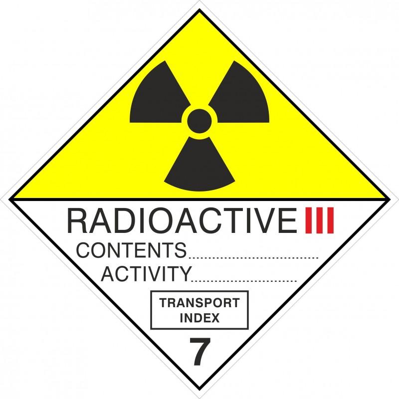 07CAS-Etiquetas ADR Radioactive III, figura 7C