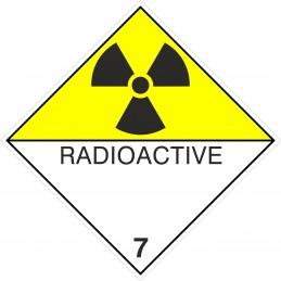 SYSSA - Tienda Online - ADR - Etiquetas adhesivas ADR Materias Radioactive marginal 7