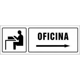 Cartell Oficina dreta -...