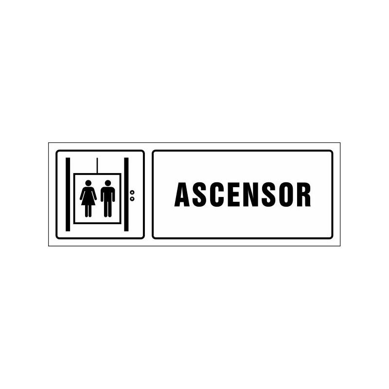 1631S-Cartel Ascensor - Referencia 1631S