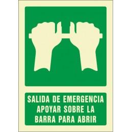 Senyal Sortida d'emergència...
