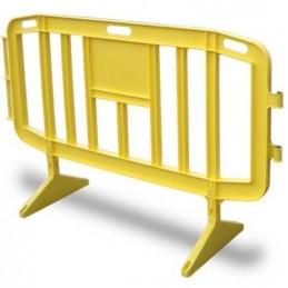SYSSA - Tienda Online - Valla peatonal amarilla 2 m.