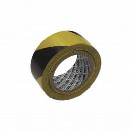 Cinta Adhesiva Amarilla-negra Marcado Suelo