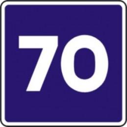 Velocidad máxima aconsejada