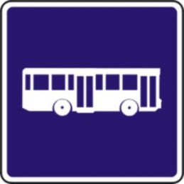 Carril reservado autobuses