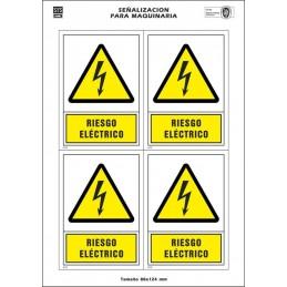 Etiquetas maquinaria...