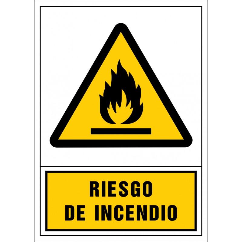 2000S-Señal de Riesgo de incendio - Referencia 2000