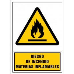 SYSSA,Señal Riesgo de incendio. Materias inflamables