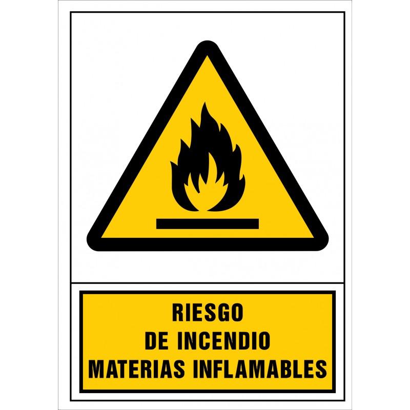 2002S-Señal de Riesgo de incendio. Materias inflamables - Referencia 2002
