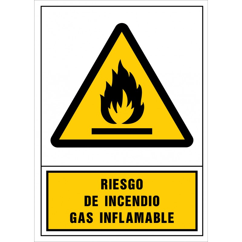 2003S-Riesgo de incendio. Gas inflamable