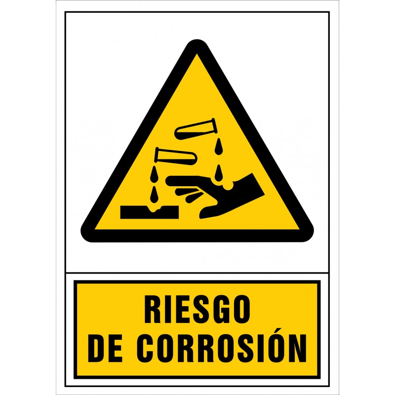 2030S-Señal de Riesgo de corrosión - Referencia 2030