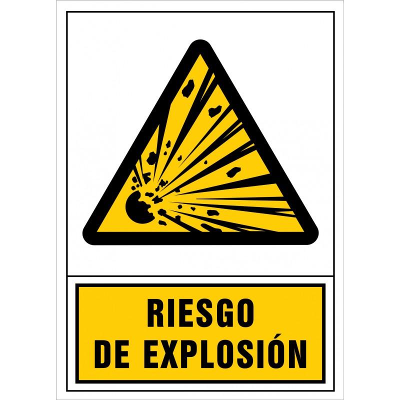 2010S-Señal de Riesgo de explosión - Referencia 2010
