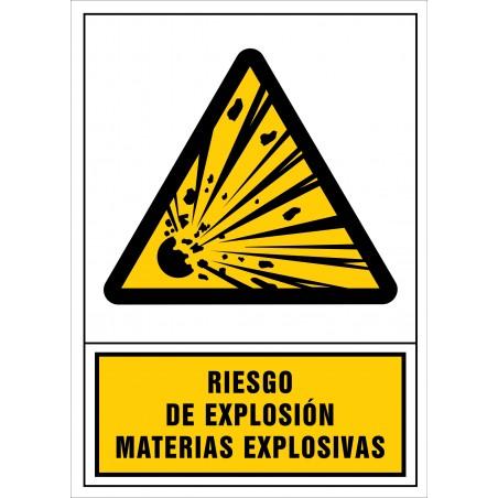Riesgo de explosión. Materias explosivas