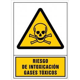 SYSSA,Señal Riesgo de intoxicación. Gases tóxicos