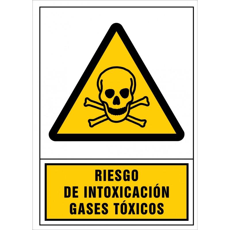 2021S-Señal de Riesgo de intoxicación. Gases tóxicos - Referencia 2021