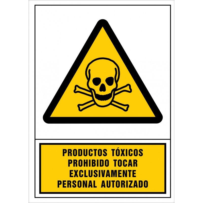 2023S-Productes tòxics. Prohibit tocar exclusivament personal autoritzat