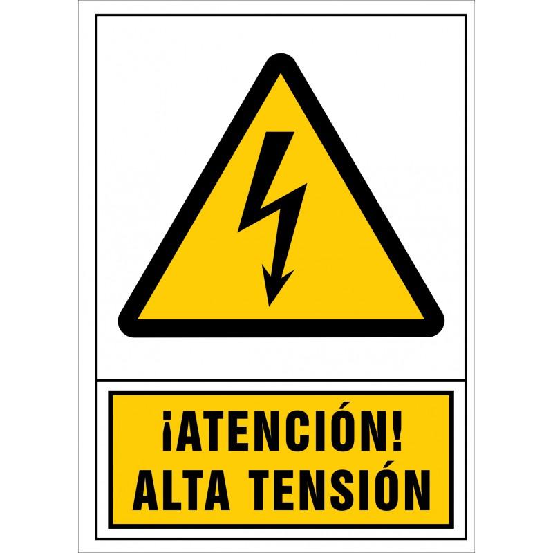 2040S-Señal de ¡Atención! Alta tensión - Referencia 2040