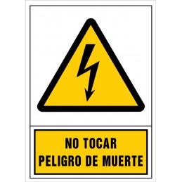 No tocar. Perill de mort