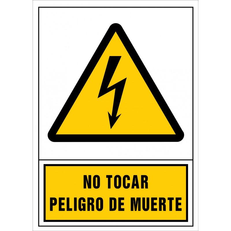 2041S-No tocar. Perill de mort