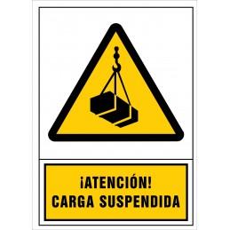 Atenció! Càrrega suspesa