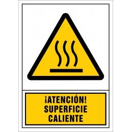 SYSSA,Señal ¡Atención! Superficie caliente