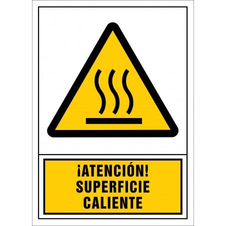 ¡Atención! Superficie caliente
