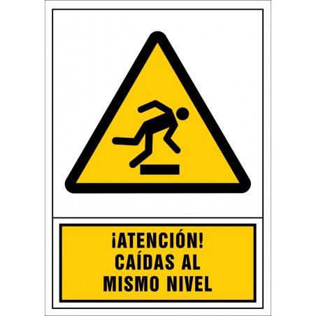¡Atención! Caídas al mismo nivel