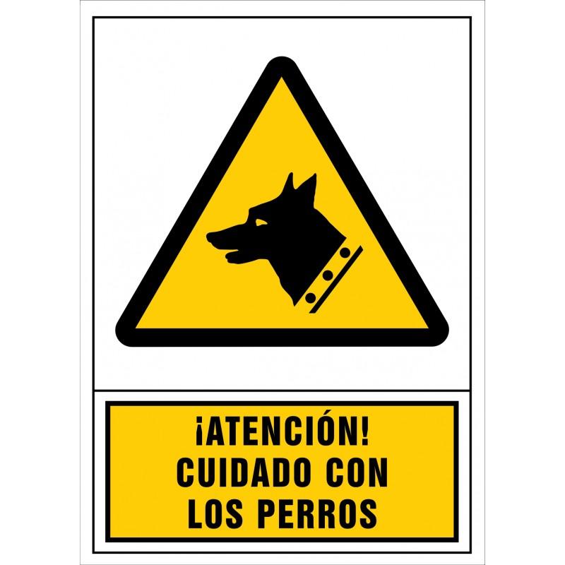 2089S-¡Atención! Cuidado con los perros