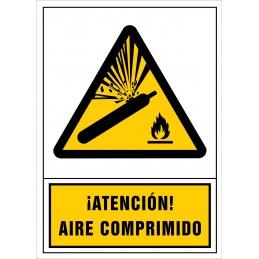 Atenció! Aire comprimit