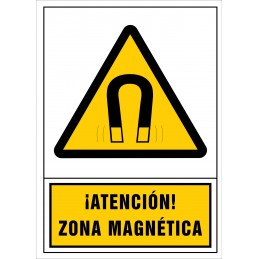 SYSSA,Señal ¡Atención! Zona magnética